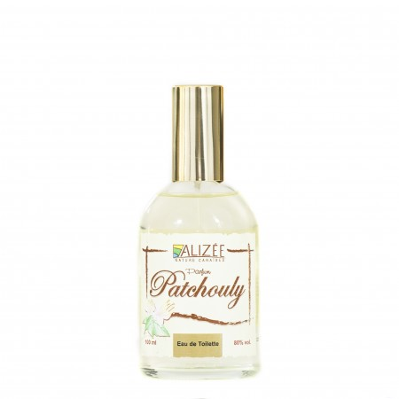 Eau de toilette parfum patchouly 100 ml