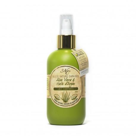 Lait hydratant aloé vera et huile d'argan