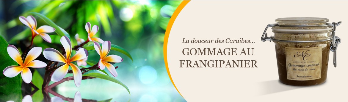 Gommage Frangipanier