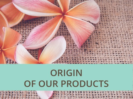 Origin of our products